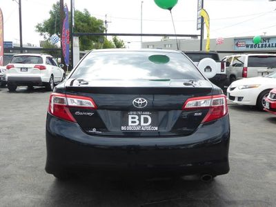 used 2012 toyota camry se at discount and wholesale
