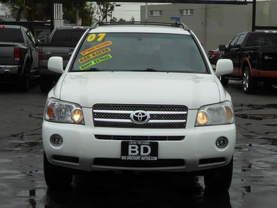 used 2007 toyota highlander hybrid limited w3rd row at discount and wholesale. Black Bedroom Furniture Sets. Home Design Ideas