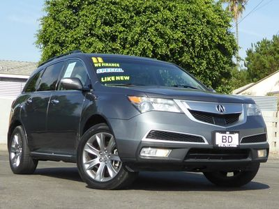 2011 Acura MDX Advance Pkg